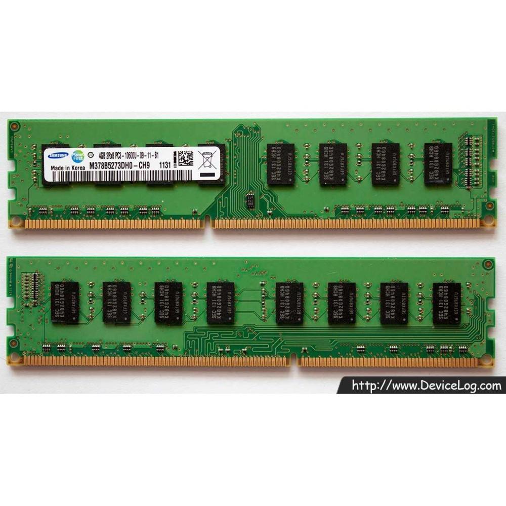 Giá Ram DDR3 4G Bus 1333/1600 Dung cho Máy tính để bàn PC ( Bảo Hành 2 Năm ) Tại AucoShop