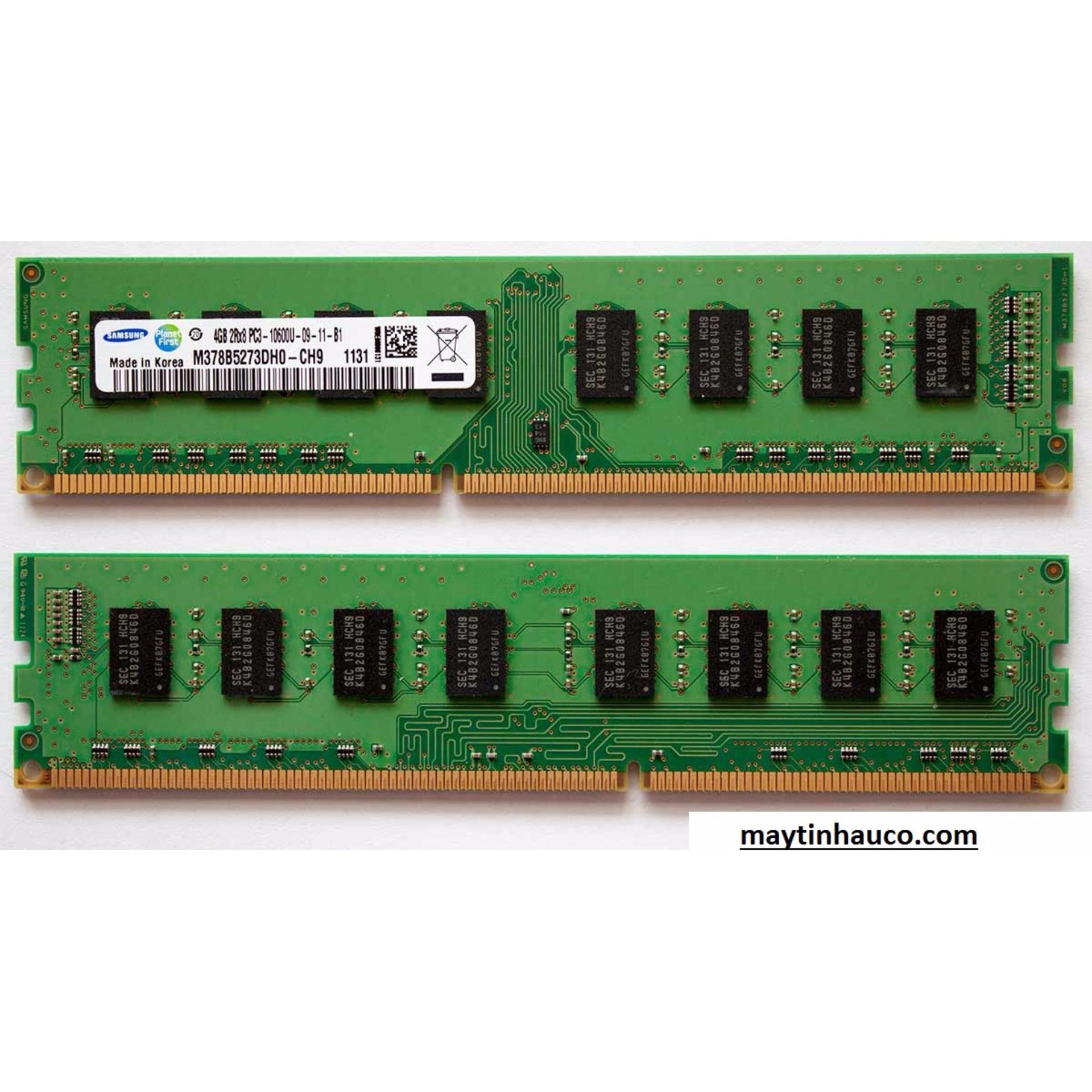 RAM máy tính để bàn DDR3 2GB bus 1333 Mhz (Xanh Lá) – Hàng Nhập Khẩu RA 173 Đang Bán Tại Bảo Ngọc Store