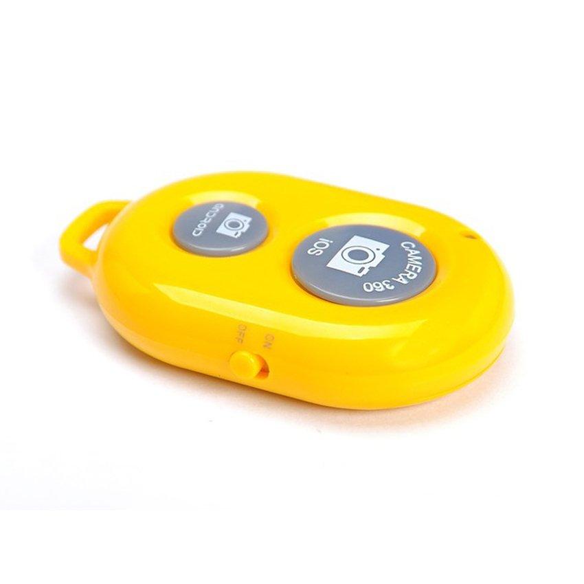 Remote chụp ảnh cho điện thoại Bluetooth Shutter (Vàng)
