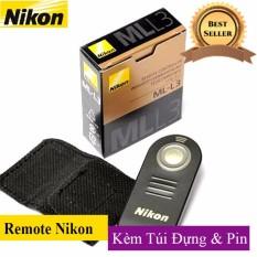 Remote điều khiển chụp ảnh từ xa cho máy ảnh Nikon JYC ML3