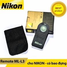 Remote Nikon (Đen)