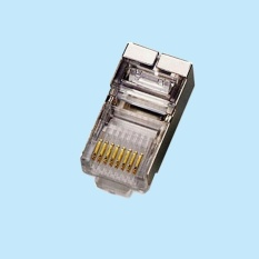 RJ45: Đầu mạng bọc sắt ( túi 100c ) xam
