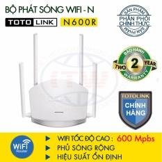 Router WiFi TOTOLINK 600Mbps N600R (Trắng) – Hãng phân phối chính thức