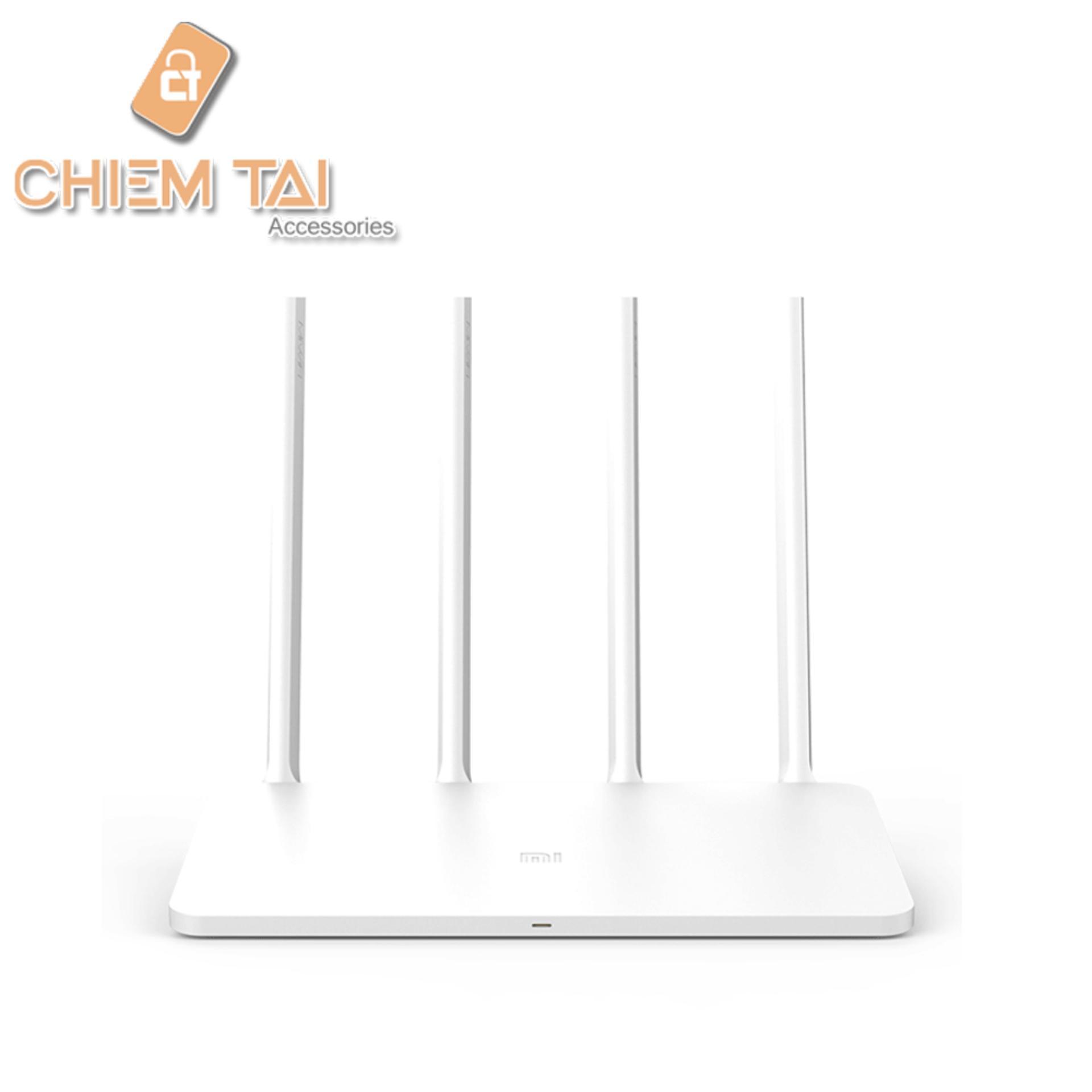Đánh giá Router Wifi Xiaomi Gen 3 với 4 Anten (Trắng) Tại Chiếm Tài Mobile (Tp.HCM)