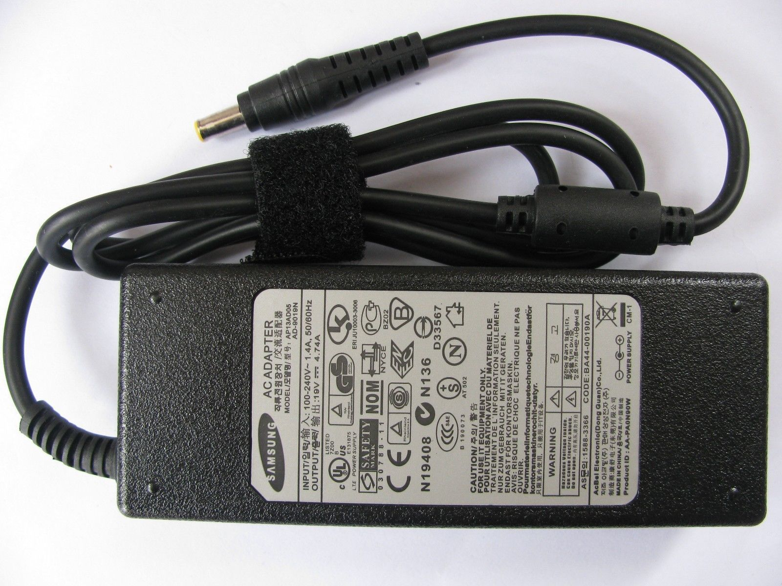 Đánh Giá Sạc cho laptop SAMSUNG: 19V – 4.74A – 90W