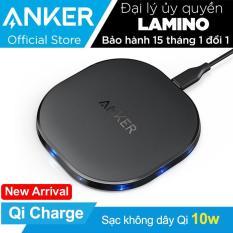 Sạc không dây ANKER PowerPort Qi 10w – Hãng phân phối chính thức
