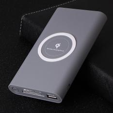 Sạc không dây chuẩn Qi kiêm pin dự phòng 8000 mAh cho các dòng smartphone Iphone 8, iphone X, samsung Note8
