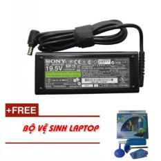 Sạc Laptop Sony 19.5v – 3.9a (75W) + Tặng Bộ Vệ Sinh Laptop