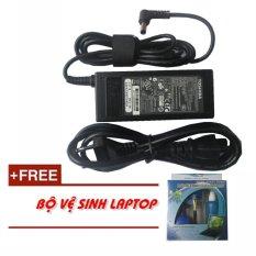 Sạc Laptop Toshiba 15V 4A (60W) + Tặng bộ vệ sinh Laptop