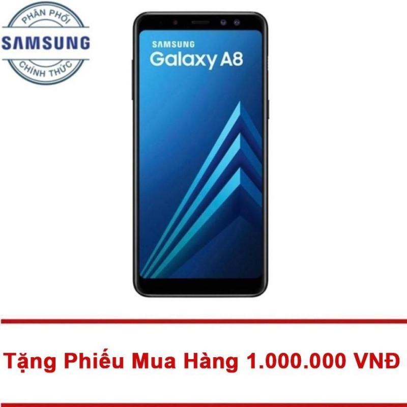 Samsung Galaxy A8 32GB RAM 4GB 5.6inch (Đen) - Tặng Mã Giảm Giá 1.000.000 VNĐ - Hãng phân phối chính thức