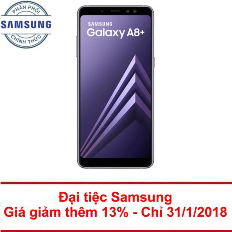 Samsung Galaxy A8+ 64Gb Ram 6Gb 6 (Tím Xám) - Hãng phân phối chính thức