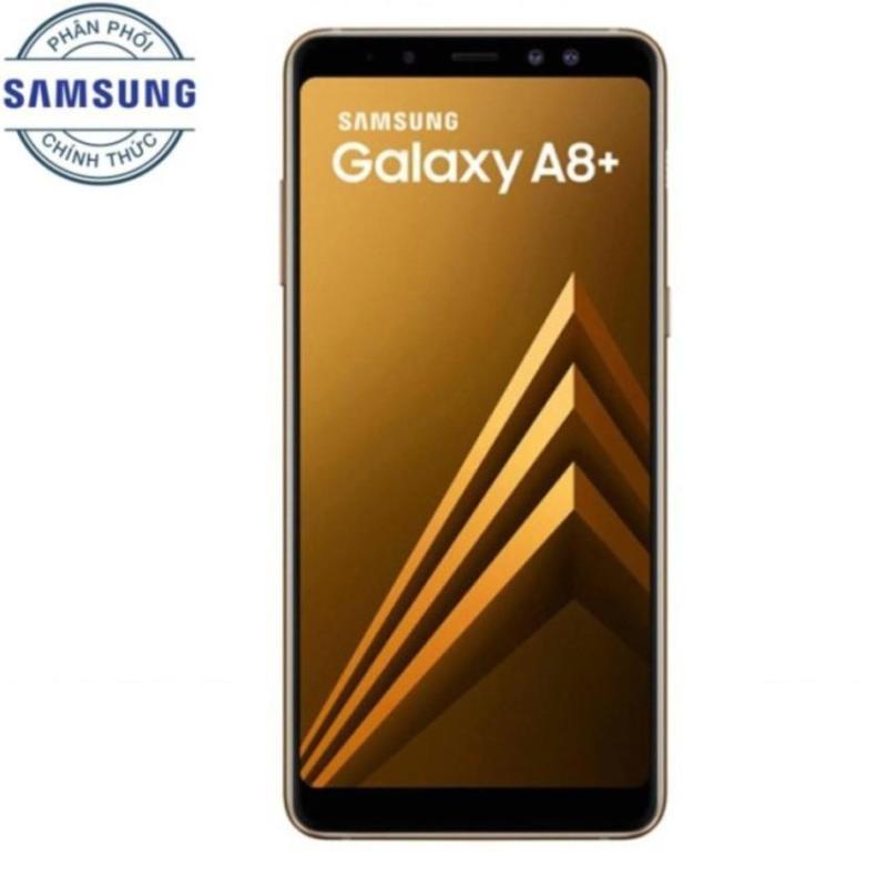 Samsung Galaxy A8+ 64Gb Ram 6Gb 6 (Vàng) - Hãng phân phối chính thức