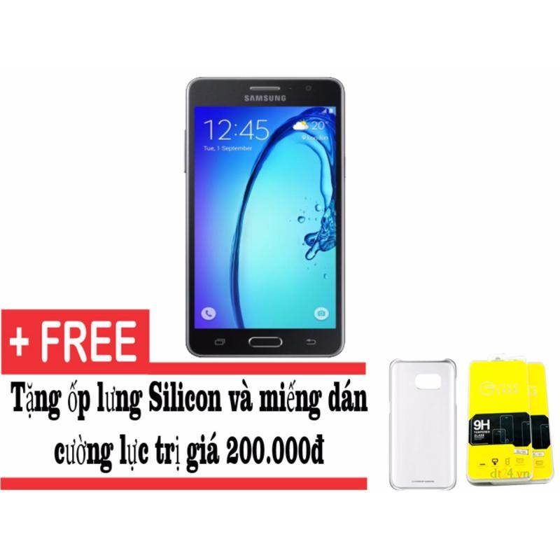 Samsung Galaxy On7 8GB (Đen) - Hàng nhập khẩu + Tặng ốp lưng và miếng dán cường lực (Đen 8GB)
