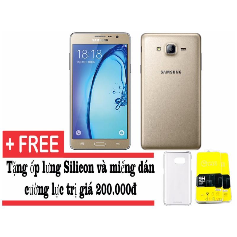 Samsung Galaxy On7 8GB (Vàng) - Hàng nhập khẩu + Tặng kèm ốp lưng và dán cường lực