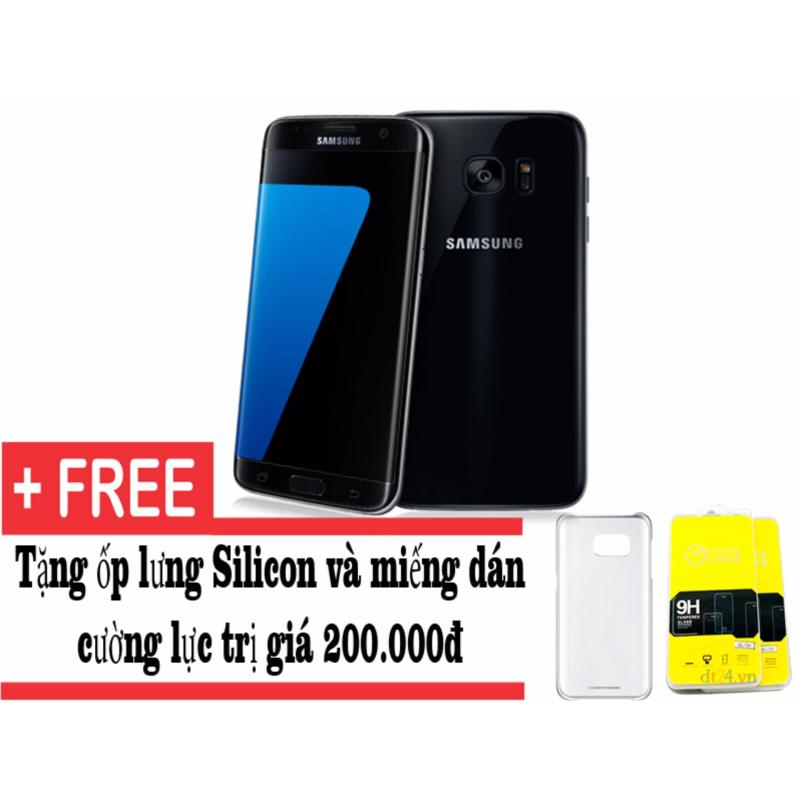 Samsung Galaxy S7 edge 32GB (Đen) 1 sim - Hàng nhập khẩu + tặng ốp lưng và miếng dán cường lực
