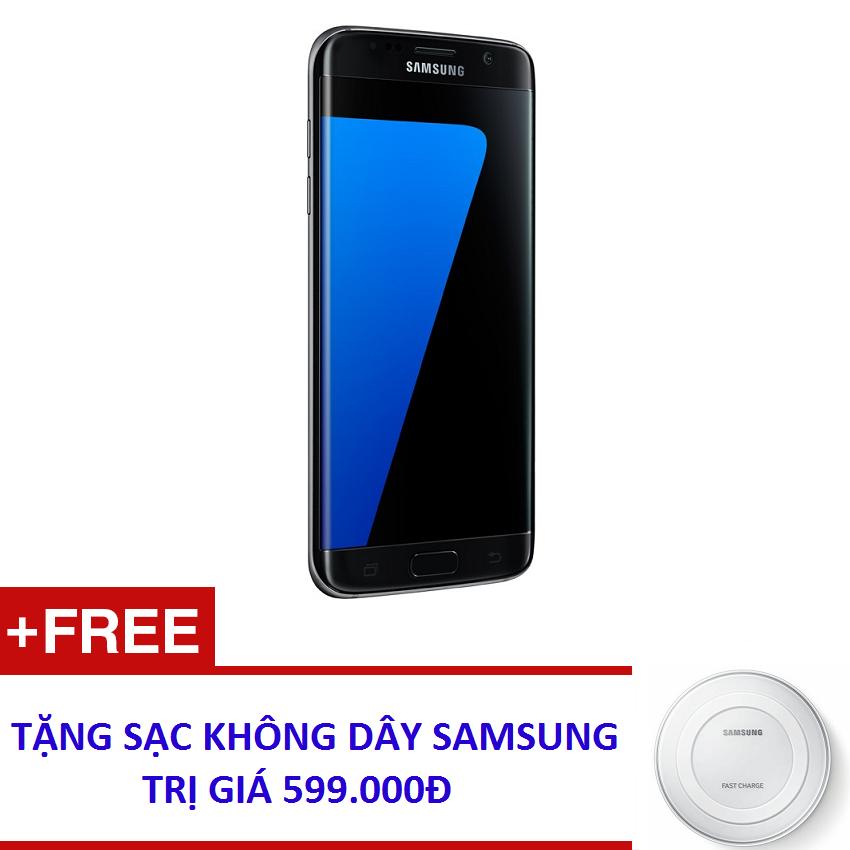 Samsung Galaxy S7 Edge 32GB G935 (Đen) - Hàng nhập khẩu + Tặng sạc nhanh không dây Samsung