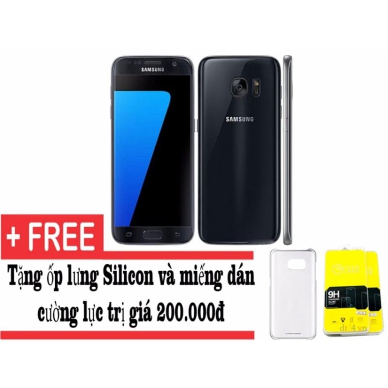 Samsung Galaxy S7 G930 32GB (Đen) - Hàng nhập khẩu + Tặng ốp lưng và dán cường lực