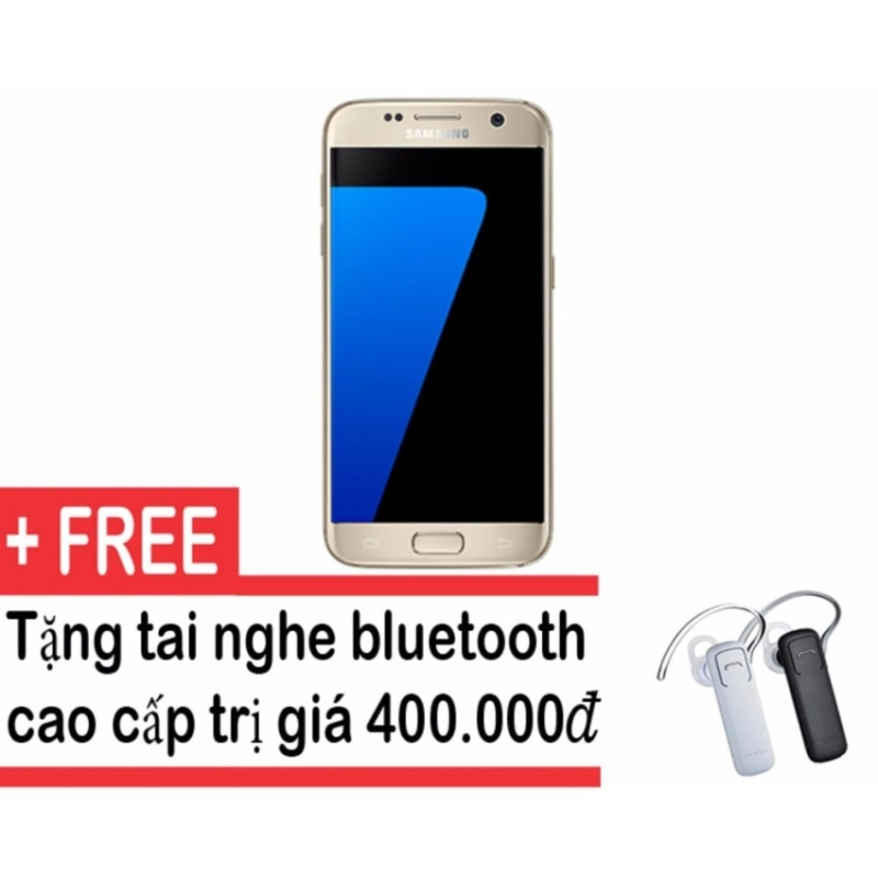Samsung Galaxy S7 G930 32GB (Vàng) - Hàng nhập khẩu + Tặng tai nghe Bluetooth