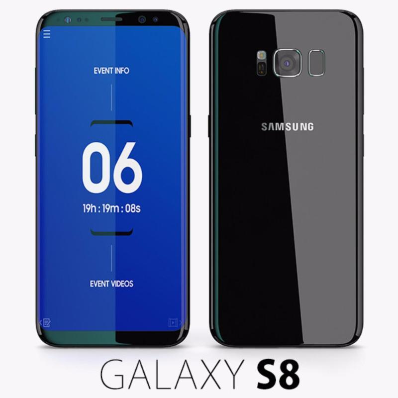 Samsung Galaxy S8 64g Ram 4gb 5.8inch (Đen Huyền Bí) - Hàng Nhập Khẩu(Đen 64gb)