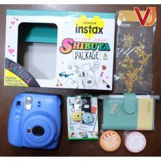 Shibuya Fujifim Instax Mini 9 Tặng kèm hộp quà Shibuya ( gồm 2 cuộn keo giấy+1 miếng nam châm+1 cây bút lông+1 cuốn Album ) + 1 hộp 10 film + 1 bộ gồm 10 bao lixi – Hãng phân phối chính thức