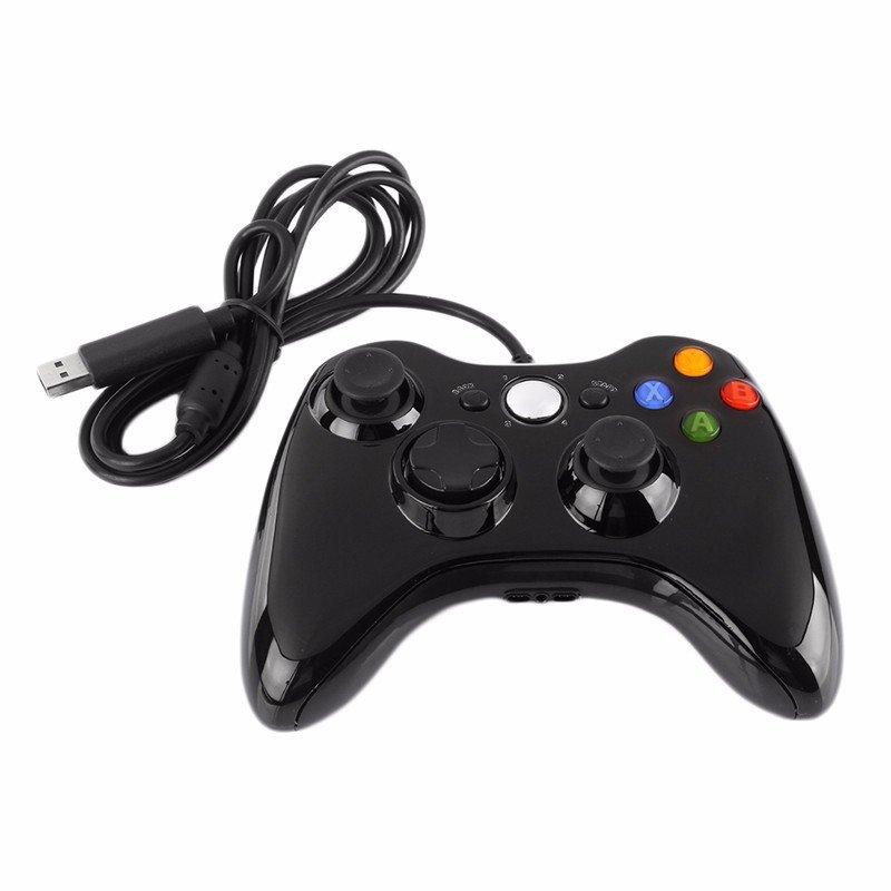 Chỗ nào bán Tay Cầm Chơi Game Kết Nối USB Dành Cho Microsoft 360 Xbox Windows 7 – Quốc tế