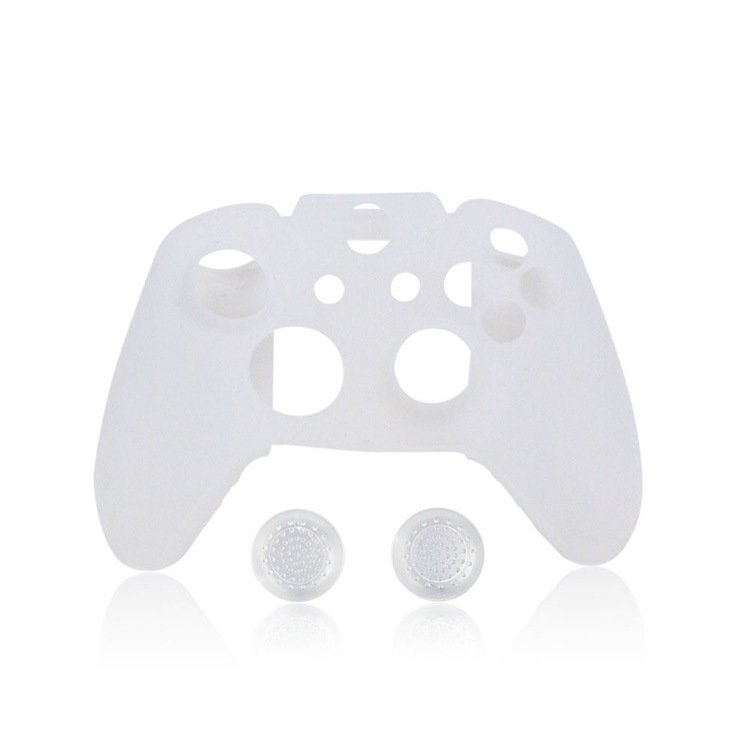 Silicon Skin Case Cover for Xbox 360 Game Controller (White) – intl