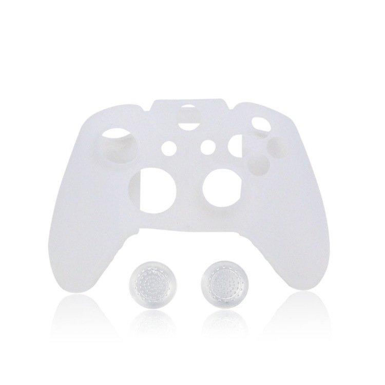 Silicon Skin Case Cover for Xbox 360 Game Controller (White) - intl