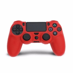 Giá Silicone Rubber Soft Skin Cover Case Protective Sleeve Case for PS4 Controller Grip Handle – intl