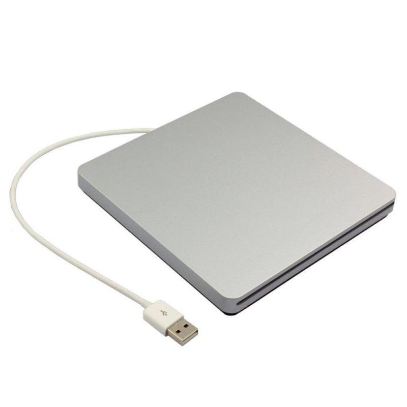 Bảng giá Silver USB 2.0 IDE Laptop CD/DVD ROM Drive External Slim Slot-in Box Case - intl Phong Vũ