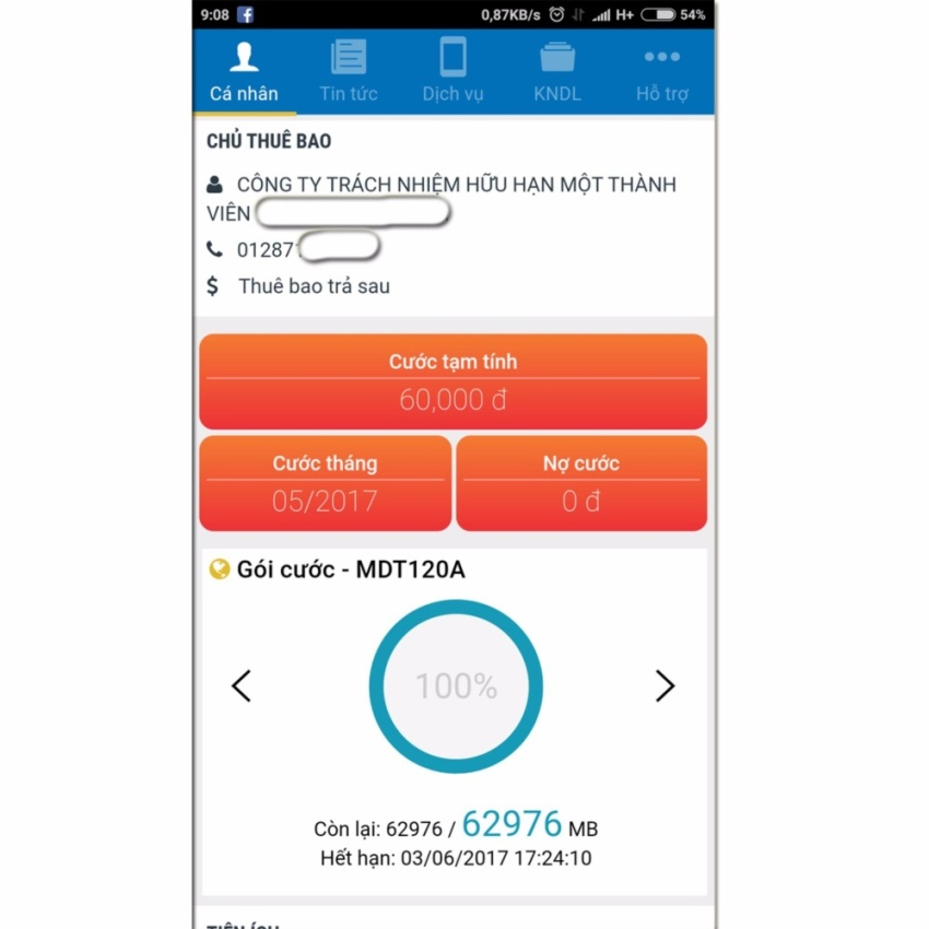 Hình ảnh SIM 3G 4G Mobifone Tặng 62GB/Tháng Trong 12 Tháng (Free tháng đầu) MDT120A