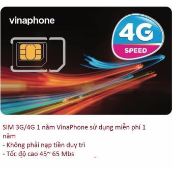Sim 3G/4G Vinaphone sử dụng Free 1 năm