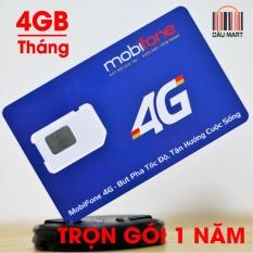 Bảng Báo Giá Sim 4G DATA Mobifone MDT250A Trọn Gói Không Cần Nạp Tiền 1 Năm  Dâu Mart