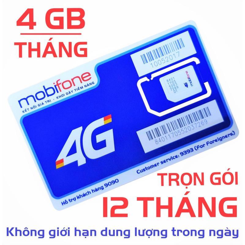 Sim 4G Mobifone MDT250A (giống F500) trọn gói 1 năm sử dụng (4GB/1 THÁNG)- [CAM KẾT ĐỦ 12 THÁNG]