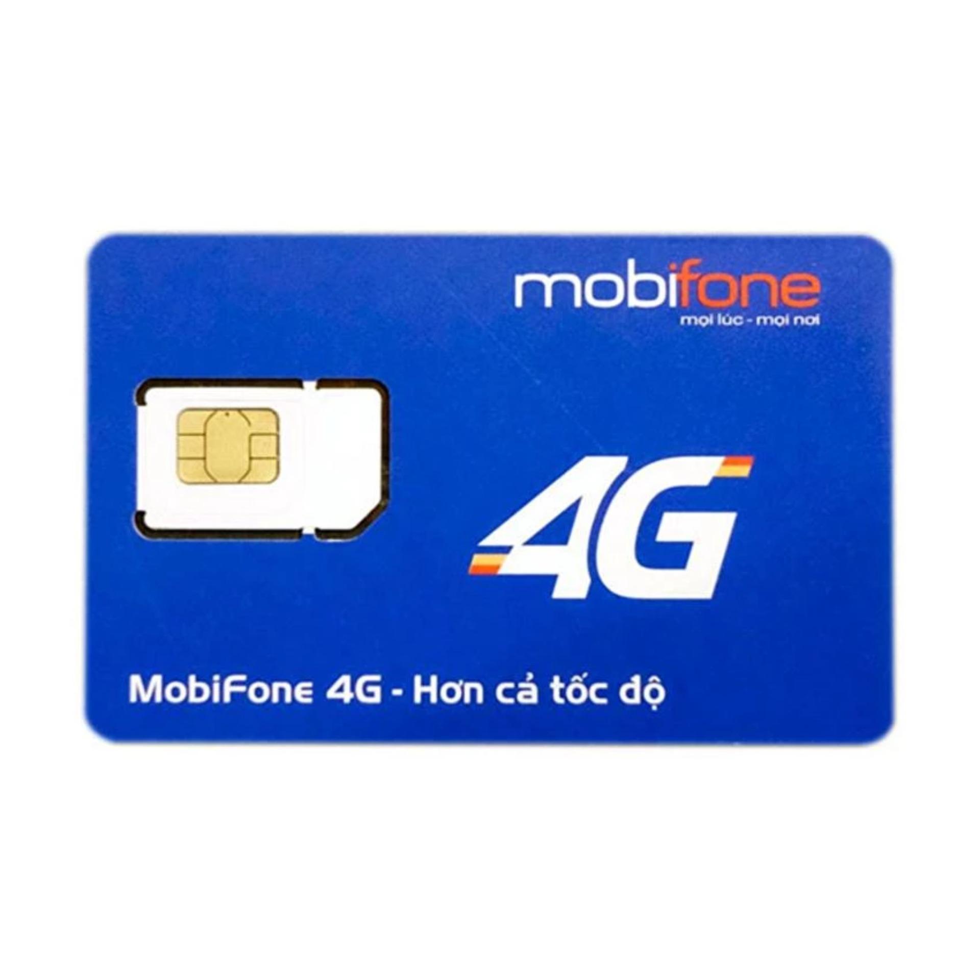 SIM 4G Mobifone miễn phí 12 tháng 4GB/tháng