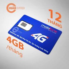 Mua SIM 4G MOBIFONE trọn gói 1 năm KHÔNG nạp tiền 4GB x 12 tháng Tại Chuẩn Store