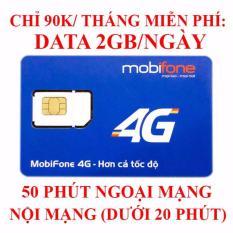 Mẫu sản phẩm SIM 4G MOBIPHONE NGHE GỌI DATA 60GB