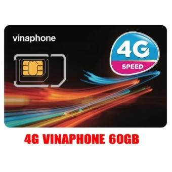 Sim 4G vina60gb, gọi nội mạngmiễn phí (phí duy trì100k)