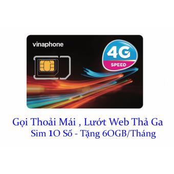 Sim Vinaphone 10 số gọi nội mạng miễn phí,vào mạng thoải mái