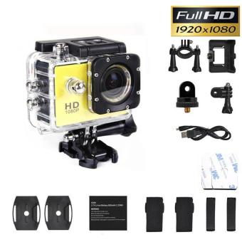 SJ4000 1080P Sports Full DV Action Waterproof Camera CamcorderYellow - intl