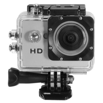 SJ4000 720P Mini DV Video Waterproof Sports Action Camera CamcorderDVR Cam Silver Set of 2 - intl