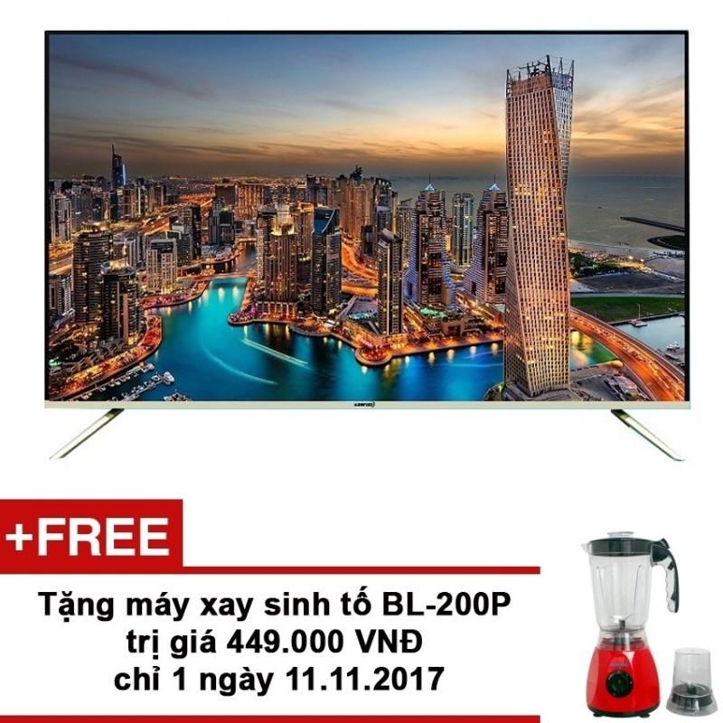 Bảng giá Smart Tivi Asanzo 43 inch Full HD - Model 43ES980 (Bạc) + Tặng máy xay sinh tố BL-200P trị giá 449,000 VNĐ từ 11-14/12/2017