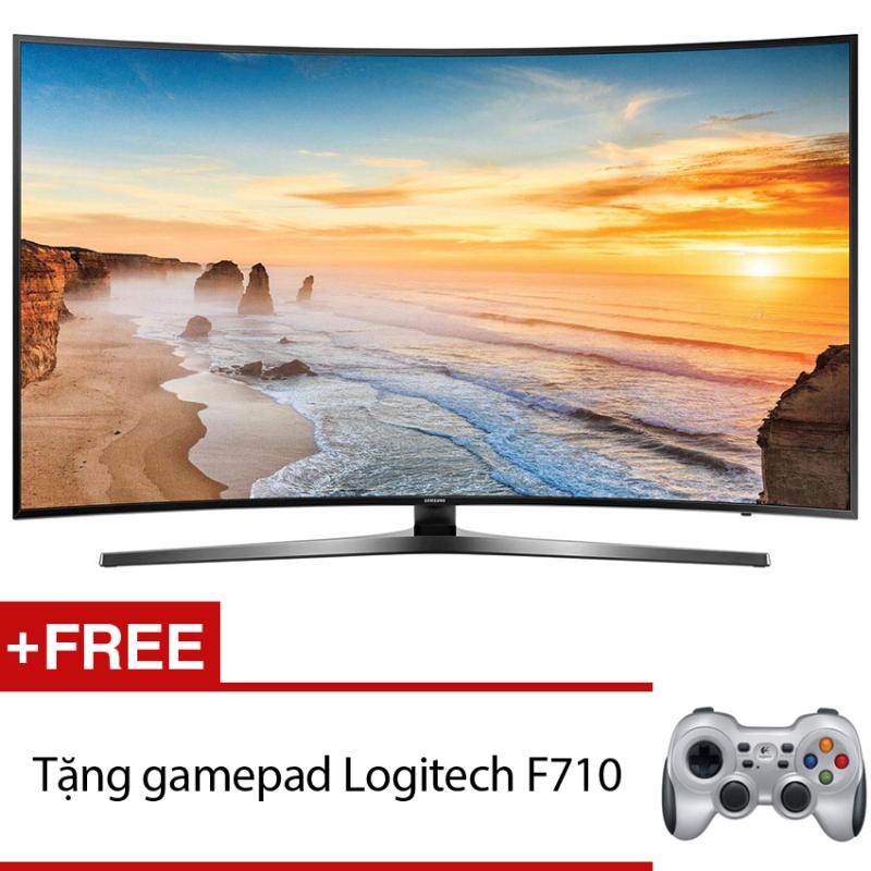 Bảng giá Smart Tivi Curve LED Samsung 49inch 4K – Model UA49KU6500KXXV (Đen) + Tặng gamepad Logitech F710