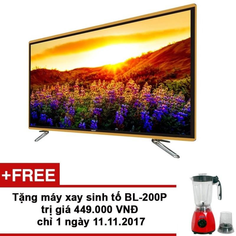 Bảng giá Smart Tivi LED Asanzo 65 inch Full HD - Model 65SK900 (Đen) + Tặng máy xay sinh tố BL-200P trị giá 449,000 VNĐ từ 11-14/12/2017