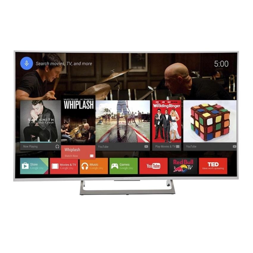 Smart Tivi LED Sony 55 inch UHD 4K – Model 55X8000E/S (Bạc) – Hãng phân phối chính thức