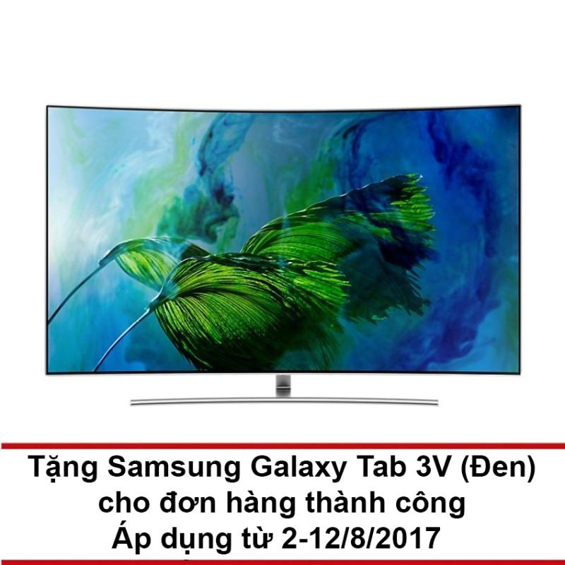 Bảng giá Smart TV QLED màn hình cong Samsung 55inch 4K – Model Q8C (Bạc) – Hãng phân phối chính thức