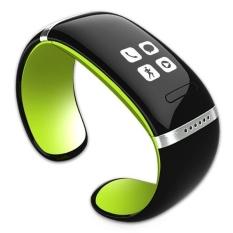 Vòng Đeo Tây thông minh L12S OLED Bluetooth Vòng Tay Đồng Hồ Đeo Tây Thiết Kế cho IOS Android Điện thoại Đeo Điện Tử (Xanh Lá) -quốc tế