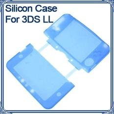 Mềm Dẻo Silicone Gel Da Bao vệ Nintendo 3DS XL LL N3DS XL LL Màu Xanh-quốc tế