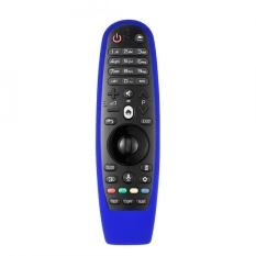 Bao bảo vệ điều khiển từ xa, remoteTV LG AN-MR600 bằng cao su (Xanh dương) (Không bao gồm remote)