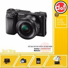 Sony A6000 24.3MP với lens Kit 16-50 (Đen) + gói App Collection + Túi sony + dán MH + thẻ nhớ 16gb + Pin Kingma