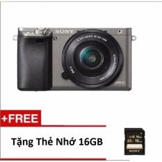 Sony Alpha A6000 (ILCE-6000L/B) (E 16-50mm F3.5-5.6 OSS) Lens Kit + Tặng Thẻ 16GB